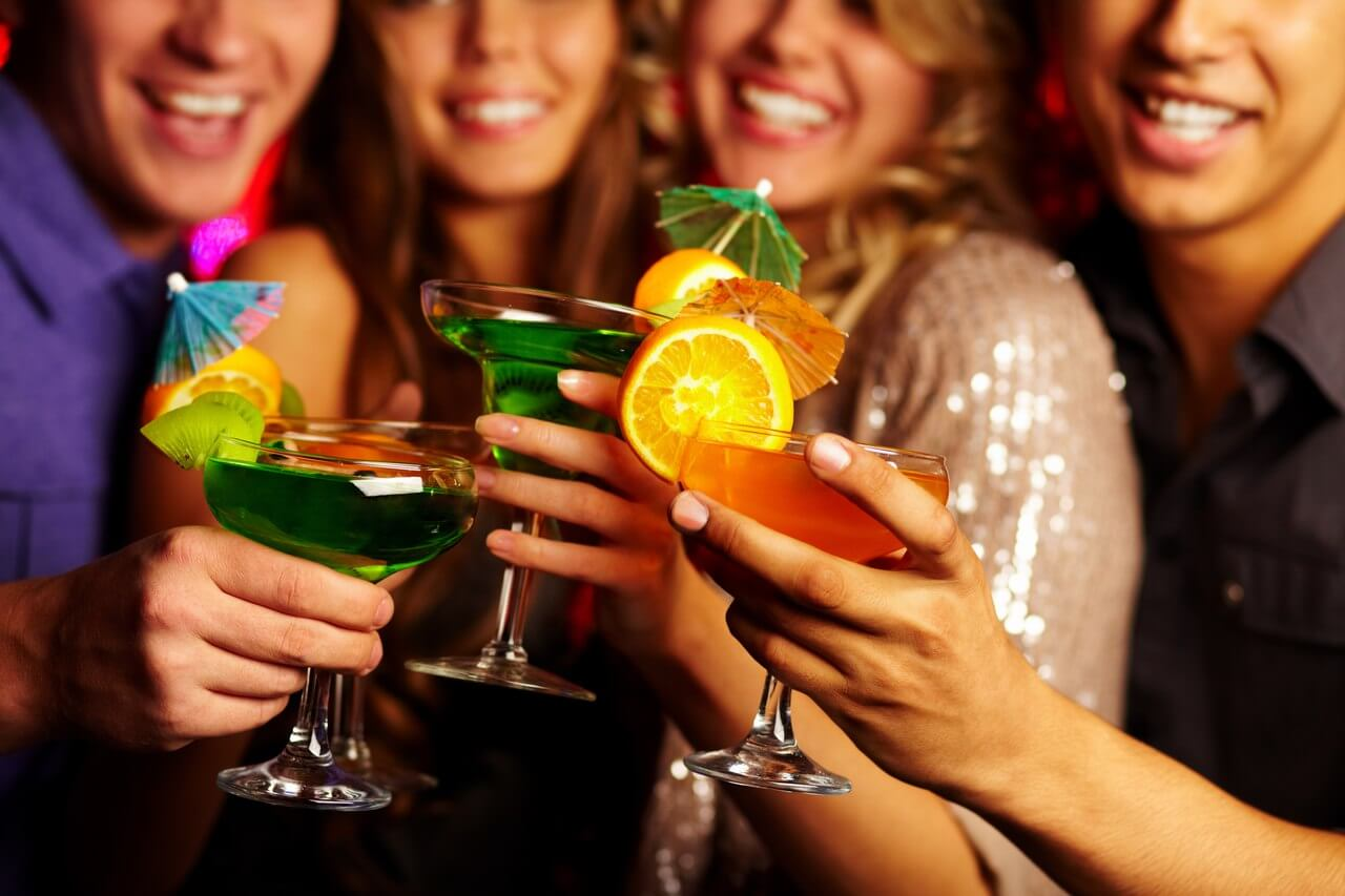 Веселые конкурсы с алкоголем